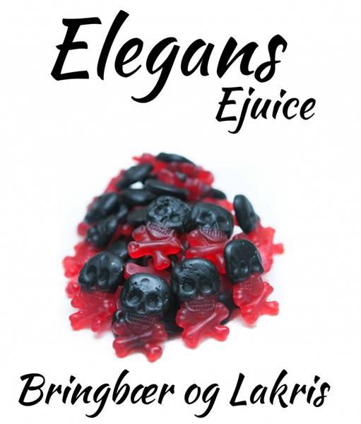 Bilde av Elegans - Bringebær og Lakris, Ejuice 50/60 ml