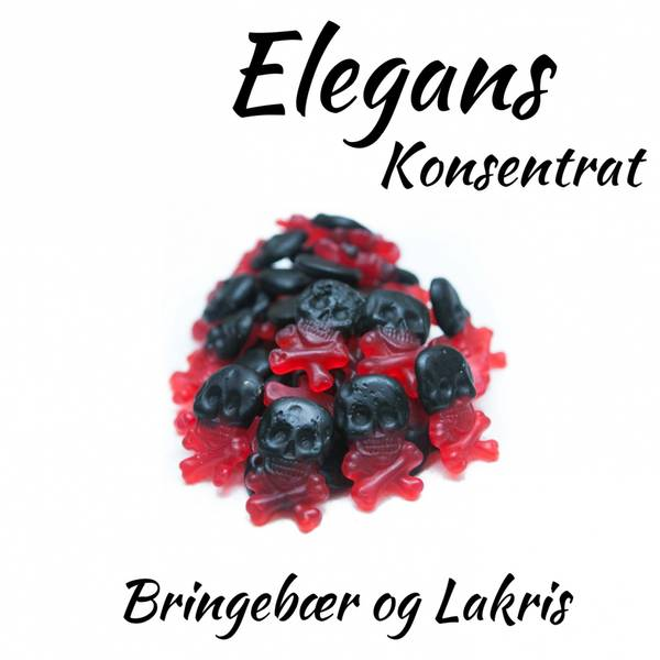 Bilde av Elegans - Bringebær og Lakris, Konsentrat 30 ml