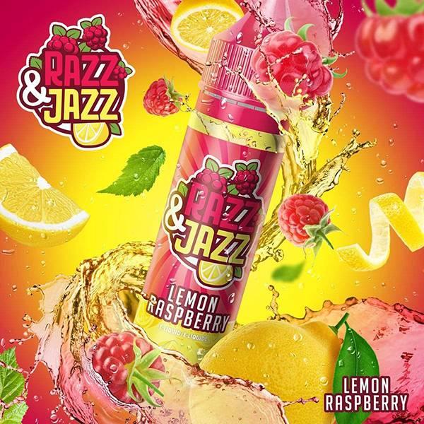 Bilde av Razz & Jazz Lemon Raspberry, Ejuice 50/60ml