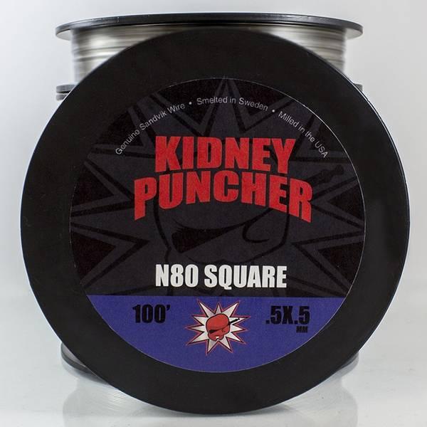 Bilde av Kidney Puncher - Nichrome 80 Square, Wire 30 m