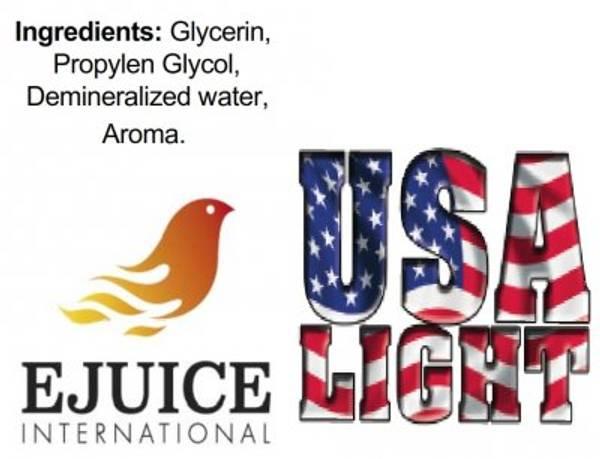 Bilde av Ejuice International - USA Light, Ejuice 40/60 ml
