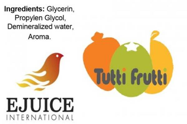 Bilde av Ejuice International - Tutti Frutti, Ejuice 40/60