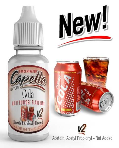 Bilde av  Capella (CAP) - Cola V2, Aroma