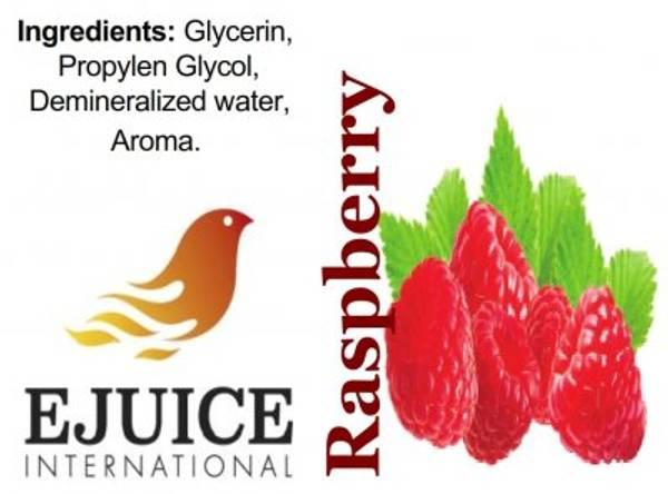 Bilde av Ejuice International - Raspberry, Ejuice 40/60 ml