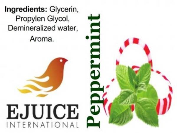 Bilde av Ejuice International - Peppermint, Ejuice 40/60