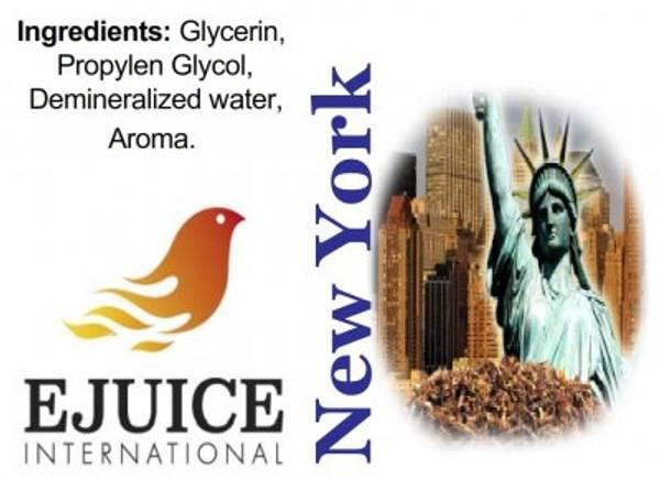 Bilde av Ejuice International - New York, Ejuice 40/60 ml