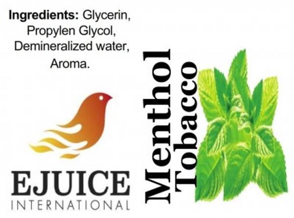 Bilde av Ejuice International - Menthol Tobacco, Ejuice