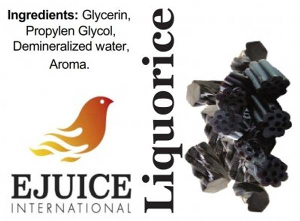 Bilde av Ejuice International - Liquorice, Ejuice 40/60 ml