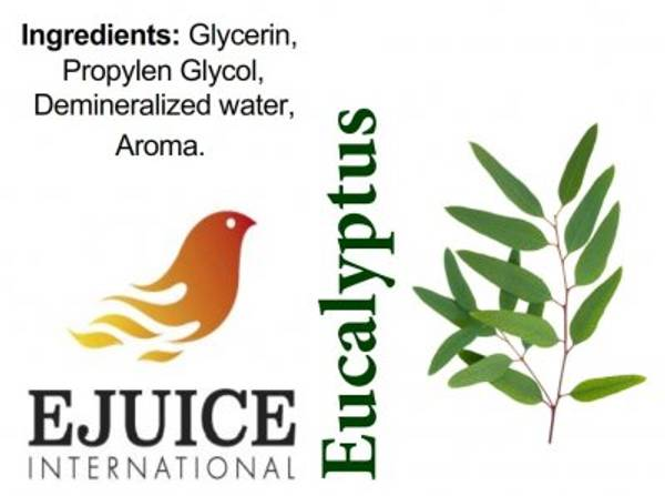 Bilde av Ejuice International - Eucalyptus, Ejuice 40/60
