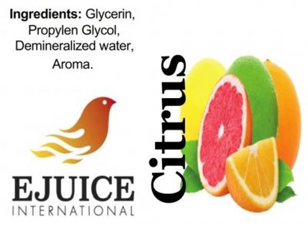 Bilde av Ejuice International - Citrus Mix, Ejuice 40/60