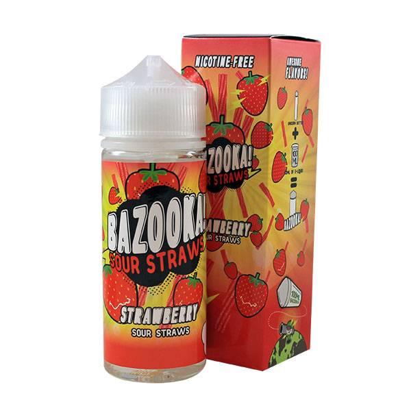 Bilde av Bazooka Sour Strawberry Sours Ejuice 100/120ml