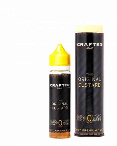 Bilde av Crafted Liquid The Original Custard, Ejuice