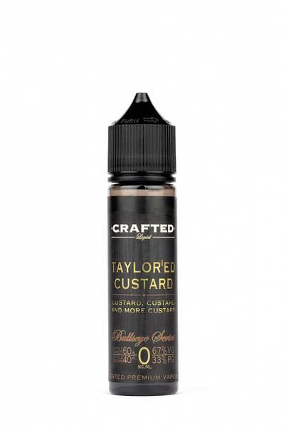 Bilde av Crafted Liquid Taylored Custard, Ejuice 40/60ML