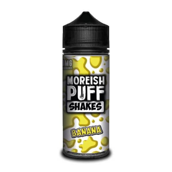 Bilde av Moreish Puff - Banana Shakes, Ejuice 100/120 ml
