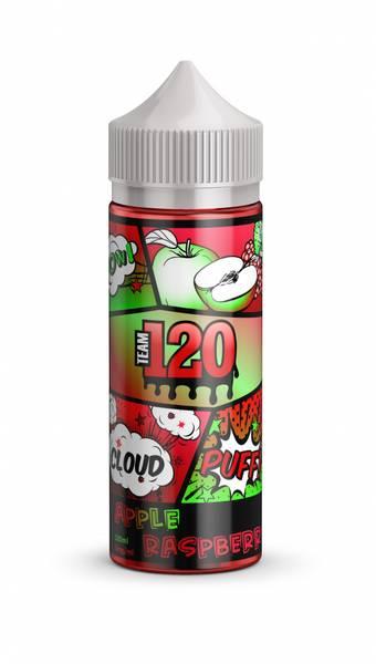 Bilde av IVG Team 120 - Apple raspberry, Ejuice 100/120 ml