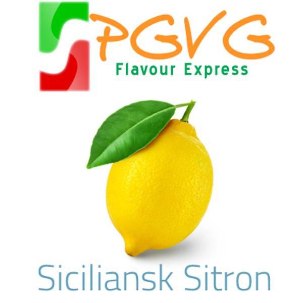 Bilde av PGVG Flavour Express - Siciliansk Sitron, Aroma