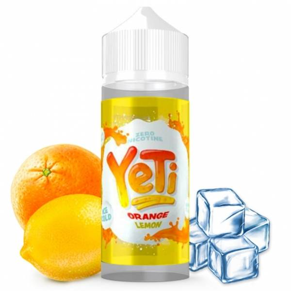 Bilde av Yeti - Ice Cold Orange Lemon , Ejuice 100/120 ml