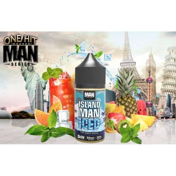 Bilde av One Hit Wonder Island Man Iced, Konsentrat 30ml