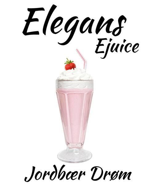 Bilde av Elegans - Jordbær Drøm, Ejuice 50/60 ml