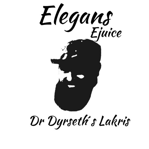 Bilde av Elegans - Dr Dyrseth´s Lakris, Ejuice 50/60 ml