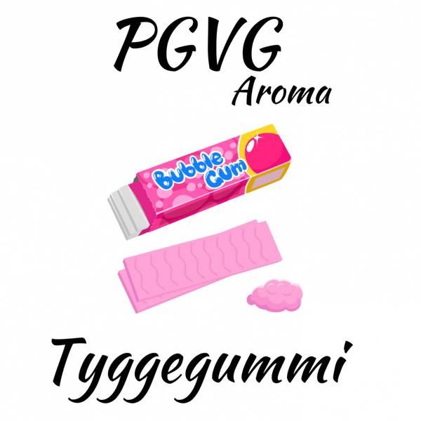 Bilde av PGVG - Tyggegummi (Bubblegum) , Aroma
