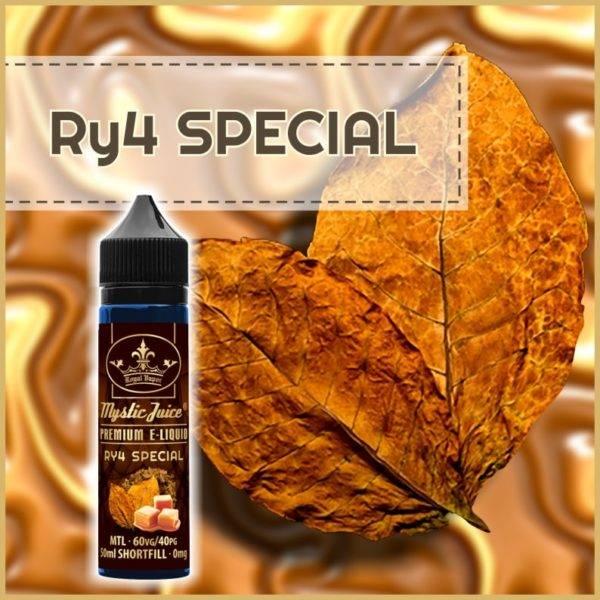 Bilde av Mystic Juice Ry4 Special , Ejuice 50/60ml