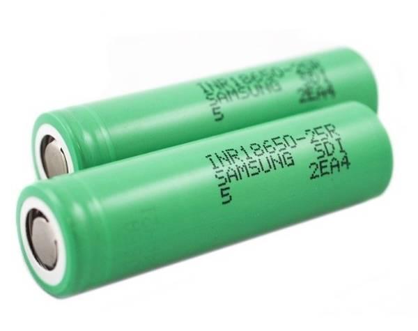 Bilde av Samsung - 25R 18650, Batteri 2500 mAh