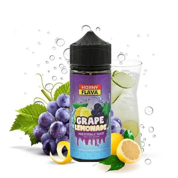 Bilde av Horny Flava Lemonade - Grape, Ejuice 100/120ml