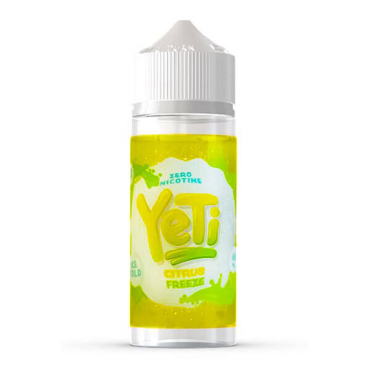 Yeti - Ice Cold Citrus Freeze, Ejuice 100/120 ml