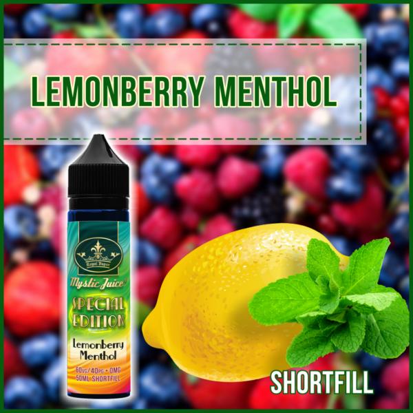 Bilde av Mystic Juice Lemonberry Menthol  , Ejuice 50/60ml