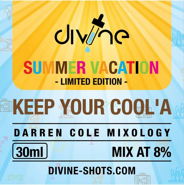 Bilde av Divine Shots - Keep Ya Cool´a, Konsentrat 30 ml