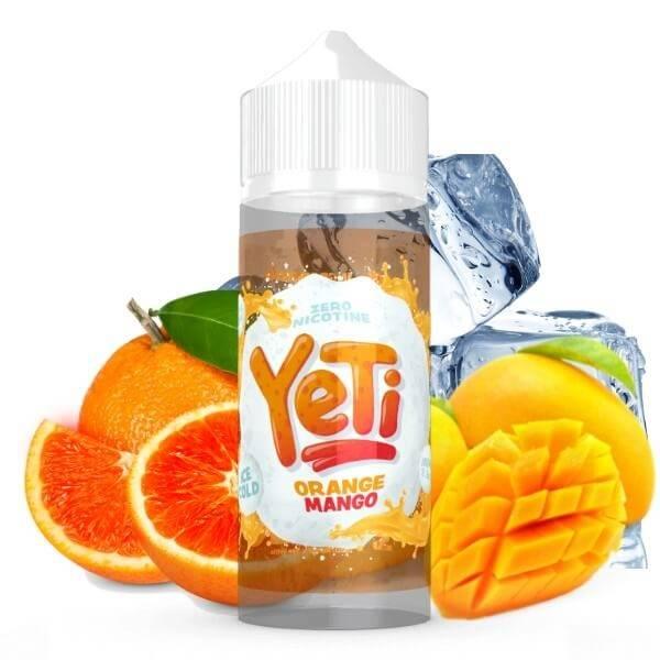 Bilde av Yeti - Ice Cold Orange Mango , Ejuice 100/120 ml