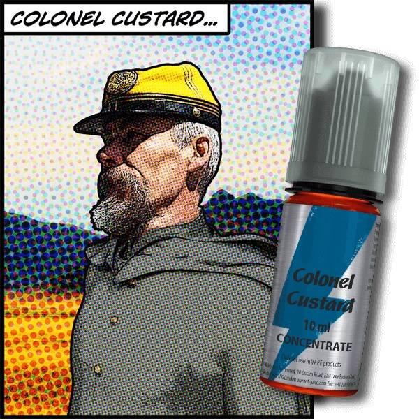 Bilde av T-Juice - Colonel Custard, Konsentrat 30 ml