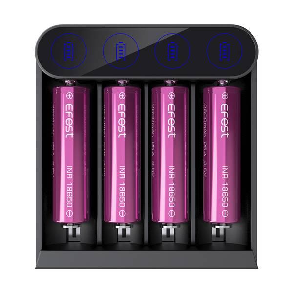 Bilde av Efest - Slim K4 Intelligent, Batterilader