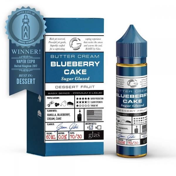 Bilde av Glas Basix - Blueberry Cake, Ejuice 50/60 ml