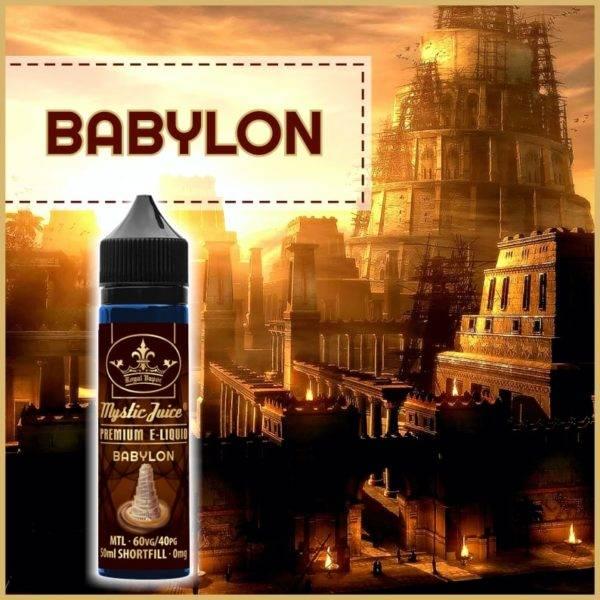 Bilde av Mystic Juice Babylon, Ejuice 50/60ml
