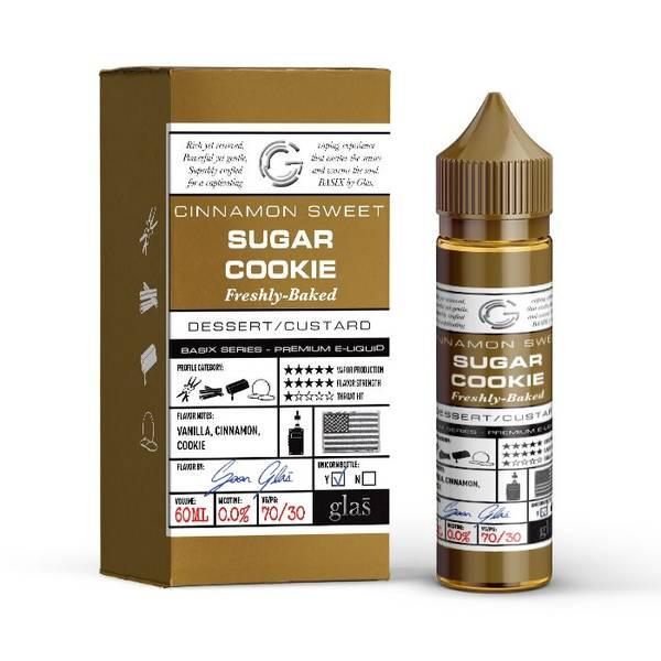 Bilde av Glas Basix - Sugar Cookie, Ejuice 50/60 ml