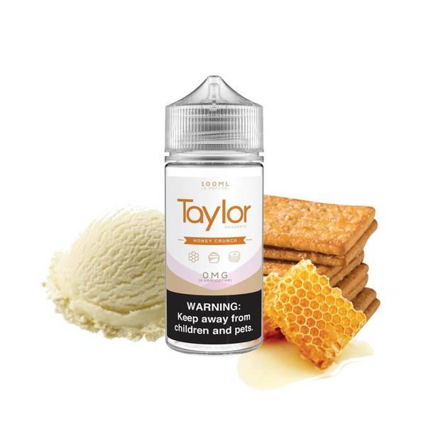 Bilde av Taylor Desserts Honey Crunch Ejuice 100/120ml