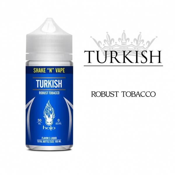 Bilde av Halo - Turkish Tobacco, Ejuice 50/100 ml
