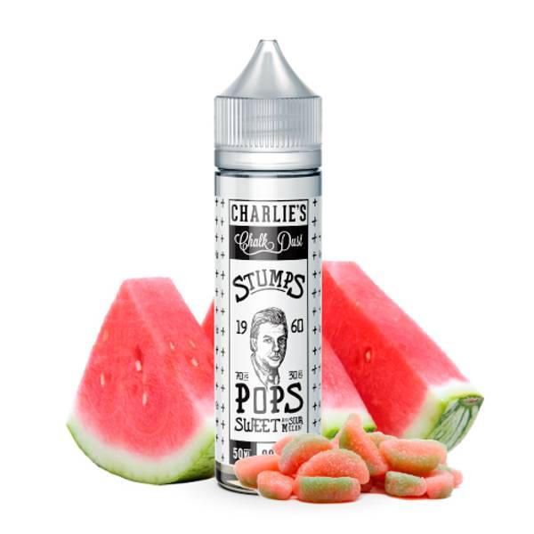 Bilde av Stumps Pops - Sweet & Sour Melon, Ejuice 50/60ML