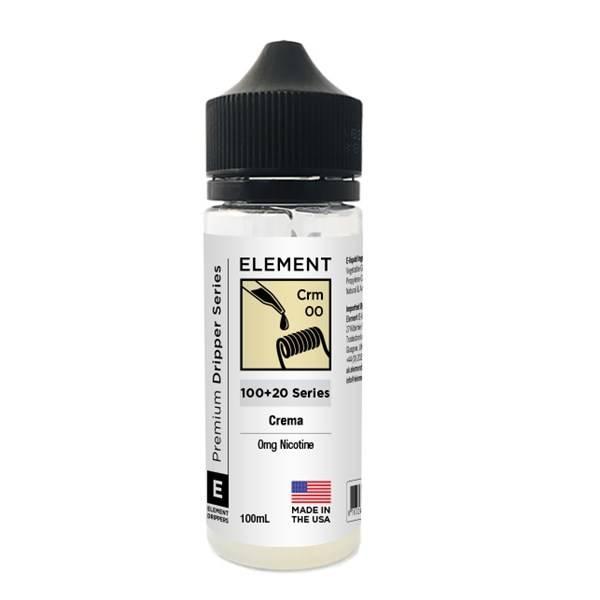 Bilde av Element E-Liquid - Crema, Ejuice 100/120 ml