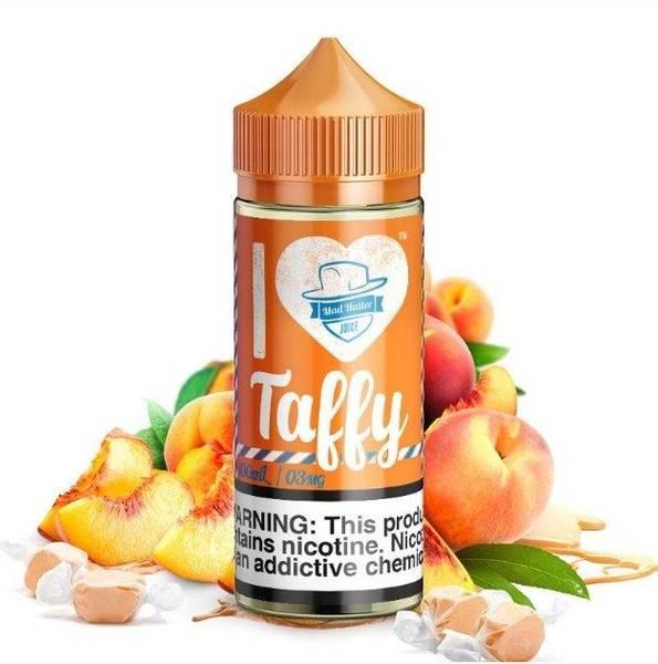 Bilde av Madhatter - I Love Taffy Too Peach, Ejuice 80/100