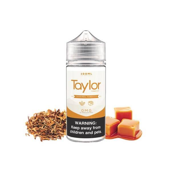 Bilde av Taylor Caramel Tobacco Ejuice 100/120ml