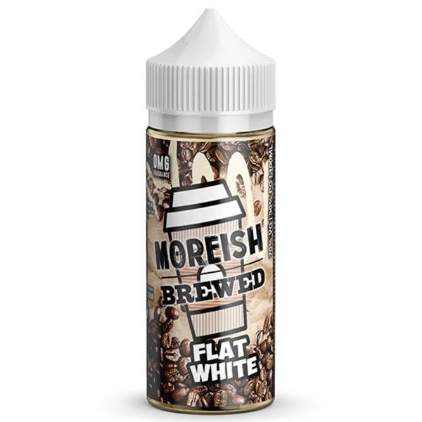 Bilde av Moreish Puff - Brewed Flat White Ejuice 100/120ml