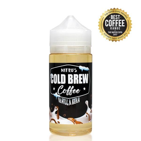 Bilde av Nitro Cold Brew Coffee - Vanilla Bean, Ejuice