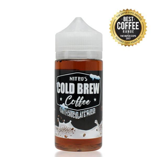 Bilde av Nitro Cold Brew Coffee - White Chocolate Mocha,