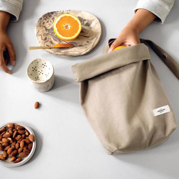 TOC Lunch bag. Clay