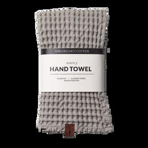 Bilde av Humdakin Waffle hand towels. Stone
