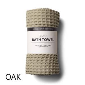 Bilde av Humdakin Waffle Bath Towels. Oak