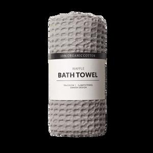 Bilde av Humdakin Waffle Bath Towels. Stone